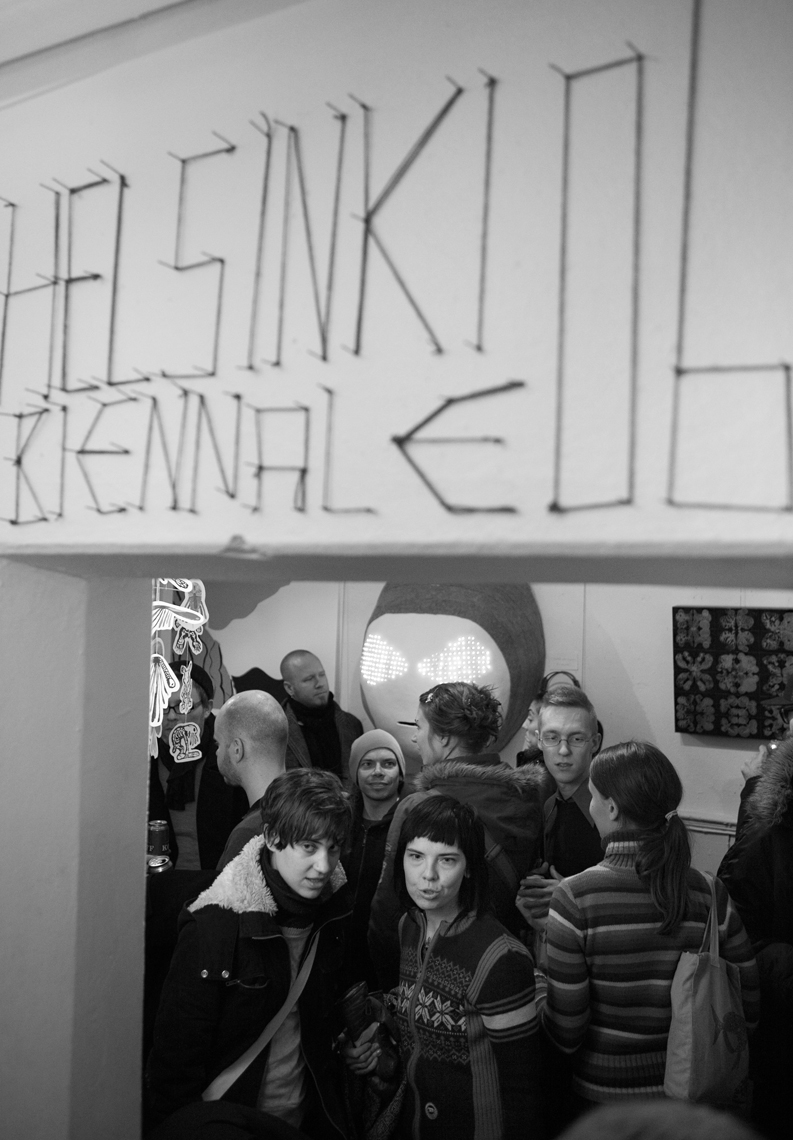 Helsinki Biennale curated and arranged by Aki-Pekka Sinikoski at legendary Myymälä2 gallery in Helsinki