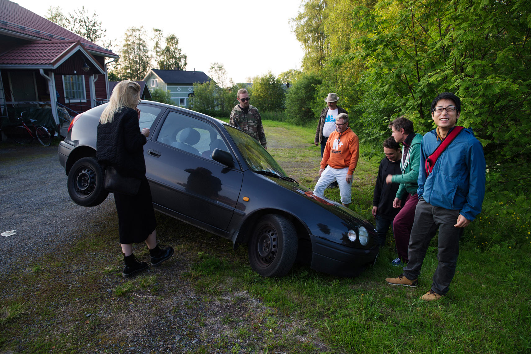Aki-Pekka Sinikoski: Endless Summer – Outdoor Exhibition in Ii // KulttuuriKauppila Art Centre in Ii